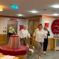 VIDEO: Care Home Workers Dance to Cheer Up Residents Photo