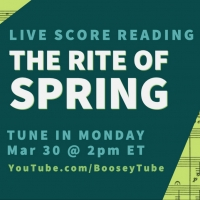 Special Guests to Join Live Score Reading Of THE RITE OF SPRING