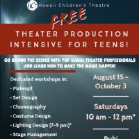 Hawaii Children's Theatre Presents a Free Theater Production Intensive for Teens Photo