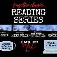 Black Box PAC's 'Forgotten Classics' Stage Reading Series Debuts in February Photo