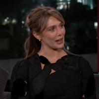 VIDEO: Elizabeth Olsen Talks About Hiding from JIMMY KIMMEL