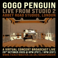 GoGo Penguin Announces 'Live from Studio Two' Broadcast Filmed at Abbey Road Photo