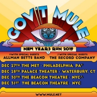 GOV'T MULE Announces Performance at Palace Theater Waterbury