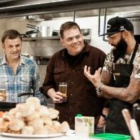 FAST FOODIES Features Celebrity Guests Steve Lemme & Kevin Heffernan Photo
