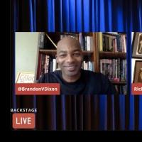 VIDEO: Brandon Victor Dixon Visits Backstage LIVE with Richard Ridge- Watch Now! Photo