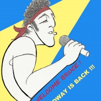 BWW Exclusive: Ken Fallin Draws the Stage - Bruce Springsteen Is Back! Photo