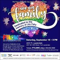 Fort Lauderdale Gay Men's Chorus Presents WE ARE FAMILY (DEDICATED TO THE MEMORY OF JIM FA Photo