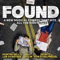 IAMA Theatre Company Will Present the West Coast Premiere of Musical Comedy FOUND Starring Jonah Platt