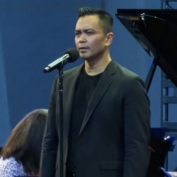 VIDEO: Jose Llana Performs 'You Raise Me Up' as Part of Lincoln Center's Restart Stag Photo