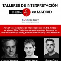 Timbre4 se une a SOM Academy para nuevos talleres de interpretación Photo