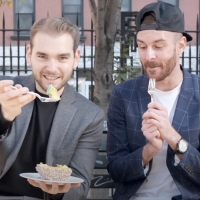 VIDEO: Matt Mucha and Taylor Okey Eat COMPANY-Worthy Birthday Cake on SECOND ACT SNAC Photo
