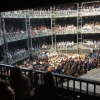More Than 4500 School Children Enjoy Shakespeare At Pop Up Theatre Photo