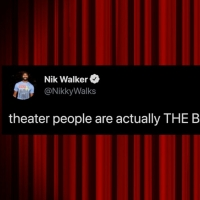 The 27 Best Theater Tweets from Theater Stars and Fans This Week Photo