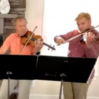 VIDEO: NSO's Pavel Pekarsky and Family Perform From Home Photo