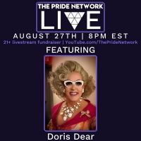 Doris Dear Joins PRIDE NETWORK LIVE! as a Special Guest Photo