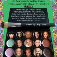 BWW Previews: Carly Ozard Presents VOICES OF COLOR: All the Colors Online Concert January Photo