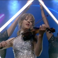 VIDEO: Watch Lindsey Stirling Perform 'The Upside' on LIVE WITH KELLY AND RYAN Photo