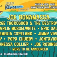 Joe Bonamassa Announces 7th Annual Keeping the Blues Alive at Sea