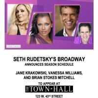 Town Hall Sets Jane Krakowski, Vanessa Williams & Brian Stokes Mitchell Concerts with Photo