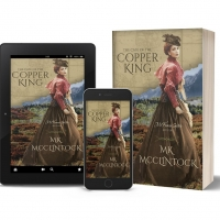 MK McClintock Releases New Historical Romantic Mystery THE CSE OF THE COPPER KING Photo