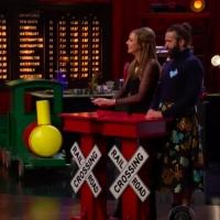 VIDEO: James Corden Has Train-Themed Show for Allison Janney & Jonathan Van Ness