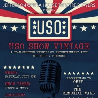 Jefferson's Texas Opera House Theatre Players Will Host USO Show Vintage July Fourth Photo