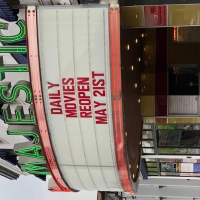 Majestic Theater Cinemas To Reopen May 21 Photo