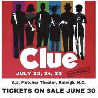 Carolina Youth Theatre Will Return To The Stage This Summer With CLUE Photo