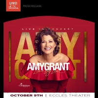 Amy Grant to Perform at the Eccles Theater in October Photo