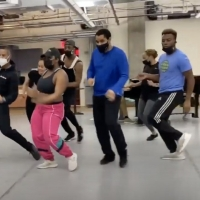 VIDEO: Inside Rehearsal For Signature Theatre's AFTER MIDNIGHT Photo
