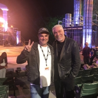 Photo: Two Hades Are Better Than One! Patrick Page Stops By Public Works' HERCULES