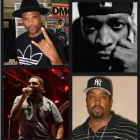 Darryl 'DMC' McDaniels, Chuck D, Big Daddy Kane & Eric B. Up Next On Tom Needham's SOUNDS Photo