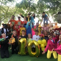 500 Primary School Children Come To The Pleasance For Free Photo