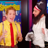 VIDEO: Patchy the Pirate Interviews The Cast of THE SPONGEBOB MUSICAL: LIVE ON STAGE!