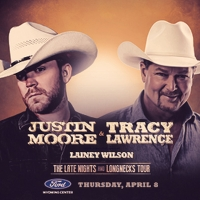 Justin Moore and Tracy Lawrence Come to the Ford Wyoming Center Photo