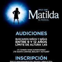 SOM Produce convoca audiciones para MATILDA Photo