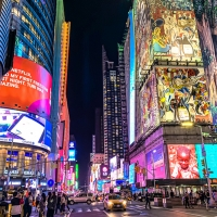 New York Jazz Academy Resumes In-Person Music Instruction In Times Square Photo