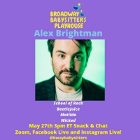 Alex Brightman Joins BROADWAY BABYSITTERS PLAYHOUSE for BEETLEJUICE Event Photo