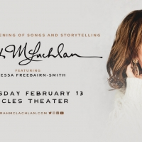Sarah McLachlan Announced At Eccles Theater