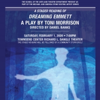 DREAMING EMMETT By Toni Morrison Will Have a Staged Reading At The University Of West Georgia