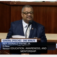 Representative Donald Payne Jr. Commends Vanguard Theater Company In The House Of Representatives