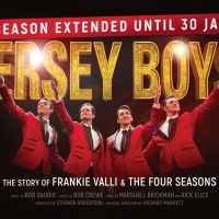 JERSEY BOYS Extended Due To Popular Demand