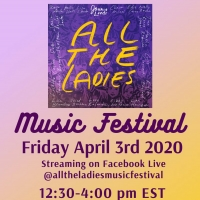 Joanie Leeds Presents: ALL THE LADIES ONLINE MUSIC FESTIVAL
