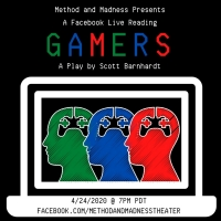 Method and Madness Presents A Facebook Live Stream Of Scott Barnhardt's GAMERS Photo