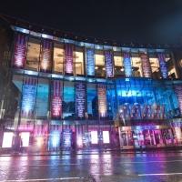'Hanging by a Million Threads' - New Artwork by Sophie Fields Transforms Edinburgh's Festi Photo