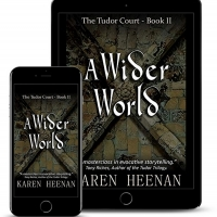 A WIDER WORLD A New Historical Novel from Karen Heenan Announced Album