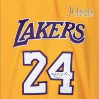 Kobe Bryant's LA Lakers Uniform, Basketball, Sneakers and More Announced for Julien's Photo