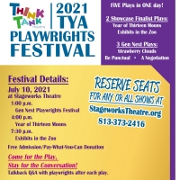 BWW Previews: THINKTANK DEBUTS TYA PLAYWRIGHTS FESTIVAL AND GEN NEXT FESTIVAL at Stag Photo