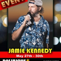 Delirious Comedy Club Celebrates Celebrity Comedy Series With Comedian Jamie Kennedy Photo