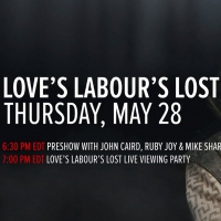 VIDEO: Watch Stratford Festival's Pre-Show For LOVE'S LABOUR'S LOST, Featuring Ruby Joy, Mike Shara, and John Caird